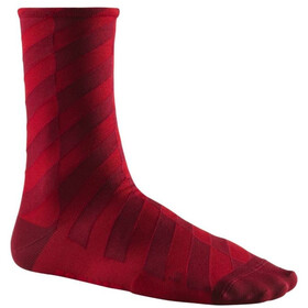 Mavic Graphic Mosaic Cycling Socks red